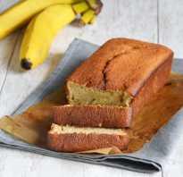 Творожно-банановый кекс: ингредиенты, рецепт приготовления