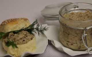 Грибная икра из шампиньонов: фото и рецепты приготовления из грибов вкусных закусок