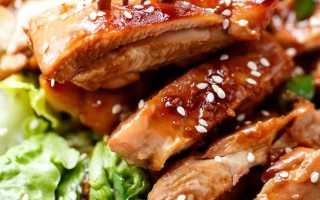 Салат с кунжутом и курицей: разные варианты для праздника