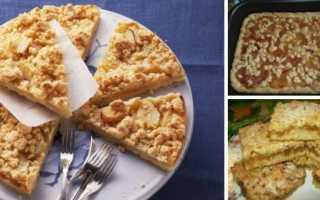 Тертый пирог с яблоками – 5 очень вкусных рецептов