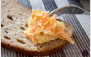 Салат из моркови с сыром и чесноком. Пошаговый рецепт с фото