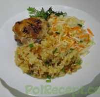 Курица с рисом в рукаве. Два несложных рецепта