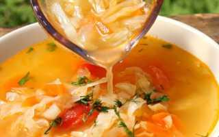 Рецепт суп с кислой капустой