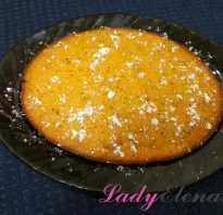 Простой пирог с морковью