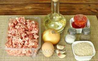 Тефтели в томатном соусе в духовке рецепт с фото
