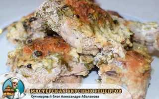Курица в кефире в духовке. Пошаговый рецепт с фото