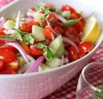 Салаты с помидорами – подборка рецептов