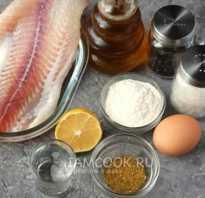 Филе пангасиуса в кляре на сковородке