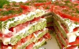 Кабачковый торт с сыром – вот это закусочка! Рецепты разных кабачковых тортов с сыром и с помидорами, рыбой, фаршем
