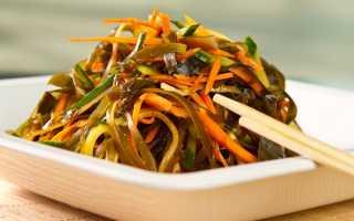 Очень вкусный салат из морской капусты – рецепт с фото