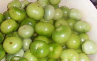 Помидоры зеленые дольками острые: как приготовить?