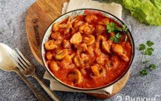 Свинина в томатном соусе – аппетитное мясо! Рецепты свинины в томатном соусе на сковороде, в духовке, с грибами, фасолью