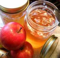 Яблочное варенье «Пятиминутка»