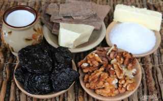 Конфеты чернослив в шоколаде с орехами в домашних условиях