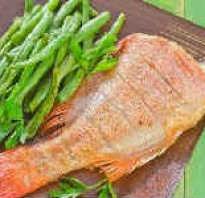 Как приготовить морского окуня на сковороде вкусно