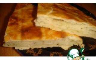 Слоеный хлеб с чабрецом