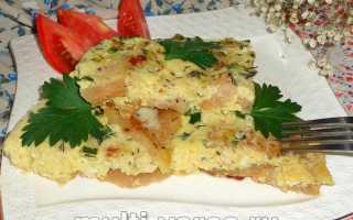 Рыба в омлете – замечательное сочетание! Рецепты разной рыбы в омлете в духовке, на сковороде и в мультиварке
