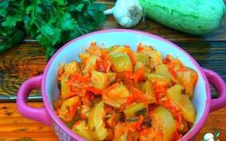 Тушеные кабачки с овощами — как тушить кабачки на сковороде и в кастрюле