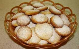 Песочное печенье — простые 12 рецептов приготовления