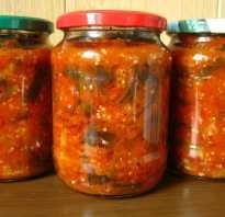 Салат из баклажанов на зиму. Простые рецепты самых вкусных салатов