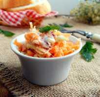 Салат с морковью, яблоком и сыром: разные рецепты