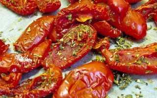 Вяленые помидоры: рецепт с пошаговыми фото