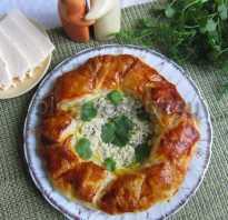 Сырный слоеный пирог: рецепт в кулинарную книгу