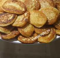 Оладьи из вареной картошки (пюре) — 4 простых рецепта