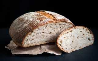 Пшенично-ржаной хлеб на закваске в духовке – рецепт