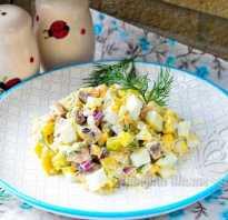 Салат с селедкой, луком и картофелем