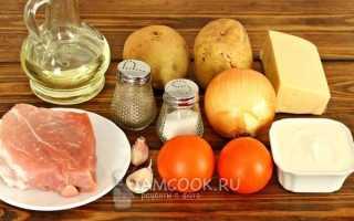 Мясо по-французски с картошкой: 7 рецептов приготовления мяса в духовке