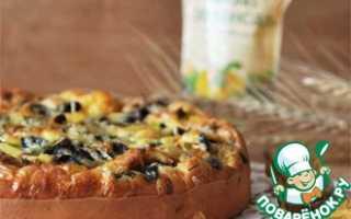 Пирог с грибами — лучшие рецепты. Как правильно и вкусно приготовить пирог с грибами