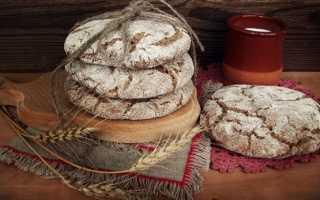 Ржаные лепешки: рецепт без дрожжей на кефире и сметане