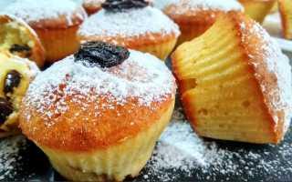 Кексы в силиконовых формочках: пошаговые рецепты творожных с изюмом, шоколадных и медовых с фото и видео