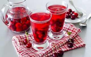 Компот из вишни на зиму в банках (8 рецептов)