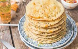 Марокканские блины – лучшие рецепты знаменитых багрира, муфлеты и их разновидностей