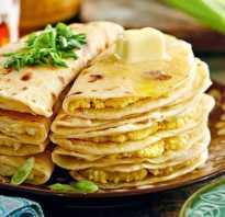 Кыстыбый с картошкой — 7 рецептов