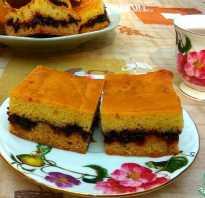 Пошаговый рецепт пышного пирога с вареньем на кефире
