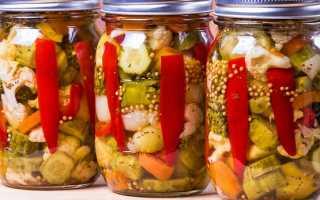 Салат ассорти на зиму – самые вкусные оригинальной заготовки