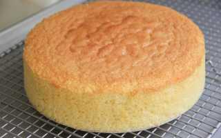 Рецепт бисквита, который всегда получается