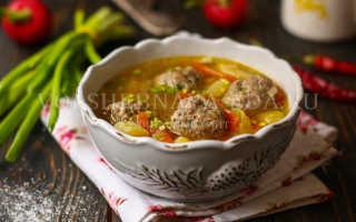 Картофельный суп сфрикадельками— простые ивкусные рецепты сытного первого блюда