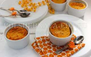 Пудинг из тыквы: рецепт приготовления