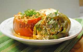 Как приготовить фаршированный перец с фаршем и рисом в кастрюле по пошаговому рецепту с фото