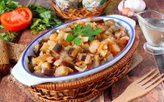 Баклажаны тушеные с помидорами – вкусные рецепты блюд на каждый день