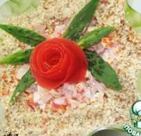 Салаты с крабовыми палочками — 10 рецептов самых вкусных салатов