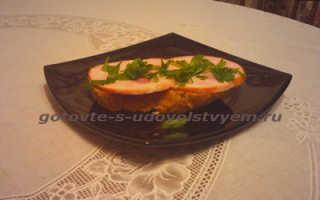 Бутерброды с колбасой, 8 рецептов
