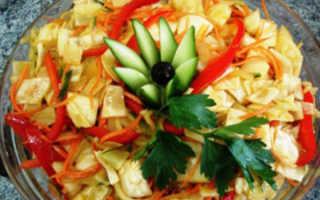 Салат из капусты с морковью по-корейски: удивительное сочетание