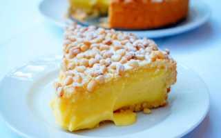 Бабушкин пирог или «торта делла нонна»