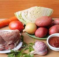 Вкусная тушенная капуста с мясом и картошкой. 3 рецепта тушенной капусты с фото