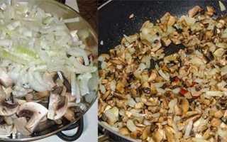 Блинчики с грибами — 7 рецептов приготовления